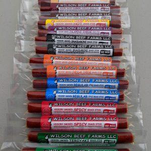 Wilson Beef Farms Snack Sticks Variety Bag