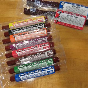 Beef Snack Sticks and Jerky Sample Pack