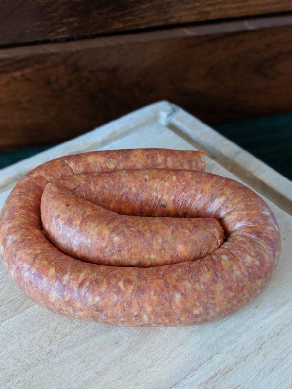 Wilson Beef Farms   Hot Italian Pork Links