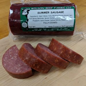 Wilson Beef Farms | Summer Sausage