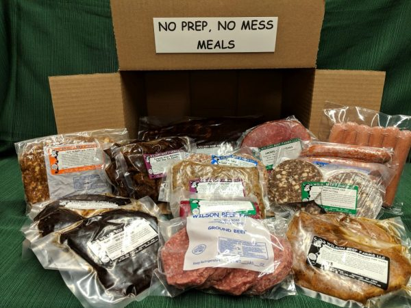 Wilson Beef Farms No Prep, No Mess Meals Box