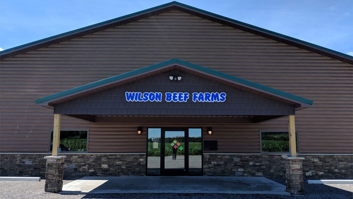 Wilson Beef Farms New Store Front
