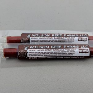 Wilson Beef Farms Honey Barbeque Snack Sticks