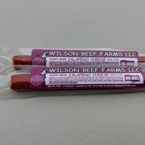 Wilson Beef Farms Jalapeno Cheese Snack Stick
