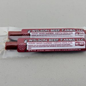 Wilson Beef Farms Raspberry Chipotle Snack Stick
