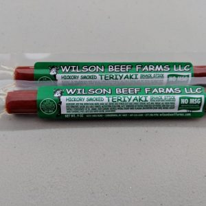 Wilson Beef Farms Teriyaki Snack Stick