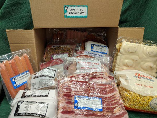 Wilson Beef Farms | Grab n' Go Grocery Box